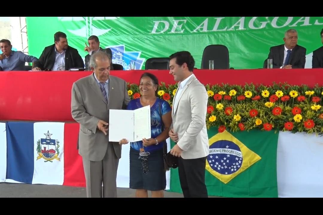 Moradia Legal III entrega 625 registros de imóveis em São José da Laje